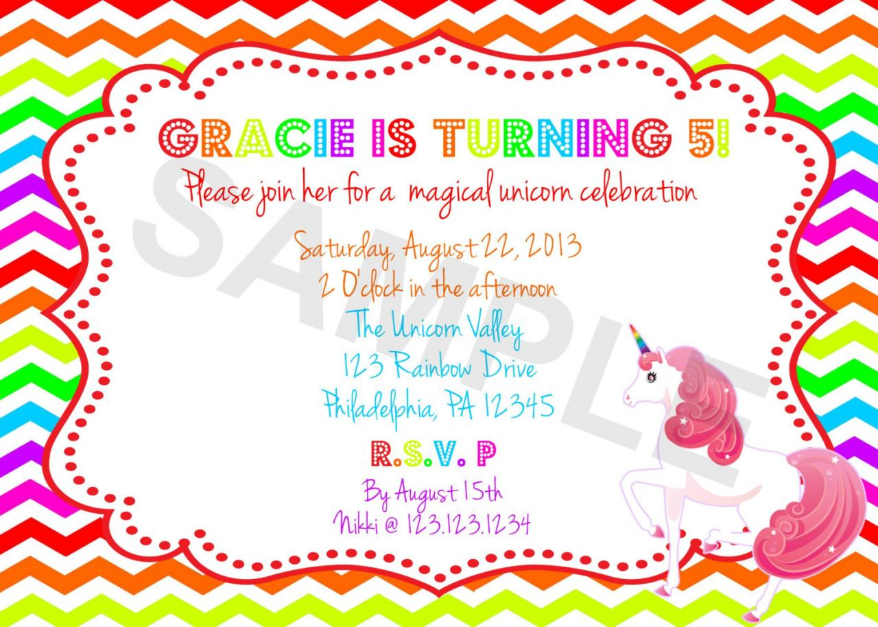 Horse Birthday Party Invitations was beautiful invitations design
